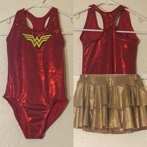 balera Costumes - Sz SC Child Small Dance Jazz Wonder Woman